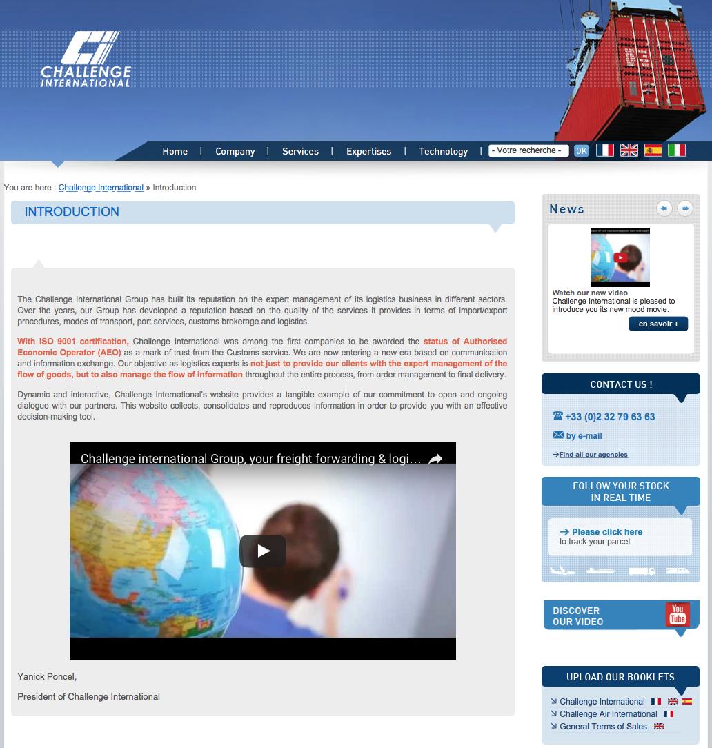 Atenao verwaltet den Übersetzungsbedarf von Challenge International