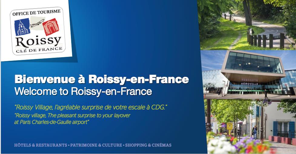 Übersetzung für die Stadt Roissy