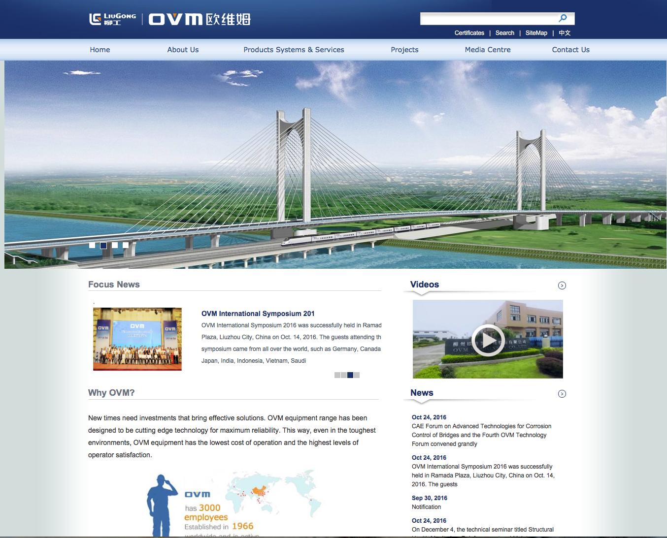 Korrektur einer Übersetzung für OVM International