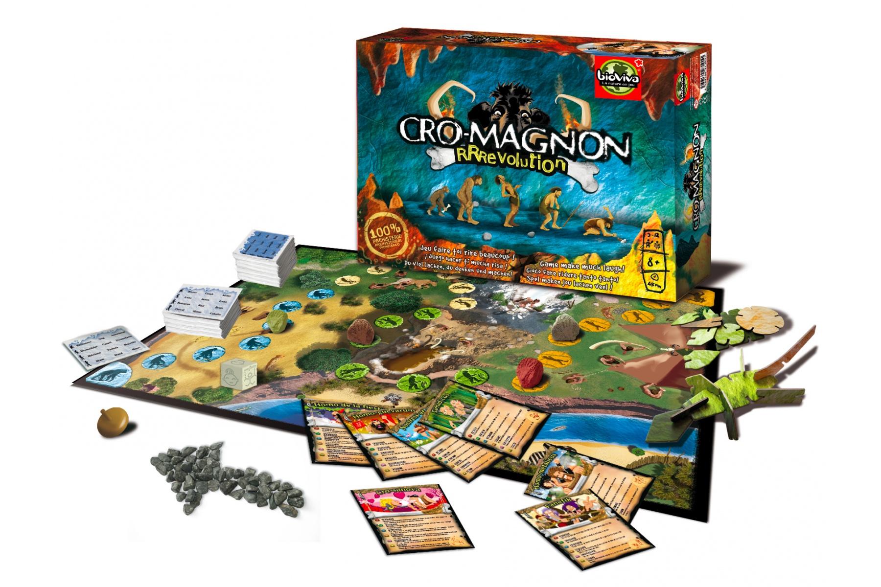 Lokalisierung des Gesellschaftsspiels Cro-Magnon