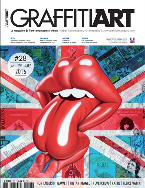 Übersetzung der Zeitschrift Graffiti Art
