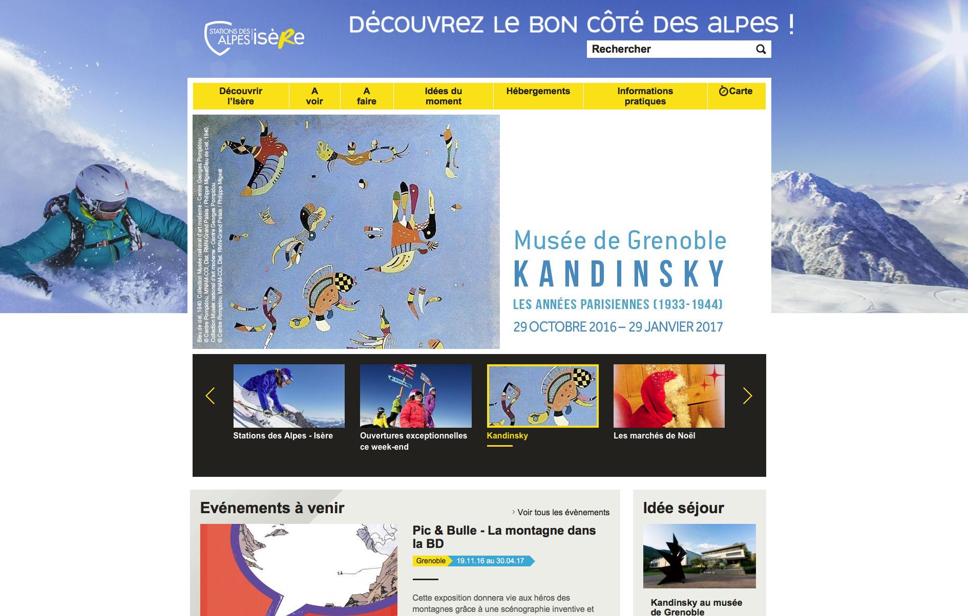 Touristische Übersetzung für das CDT Isère