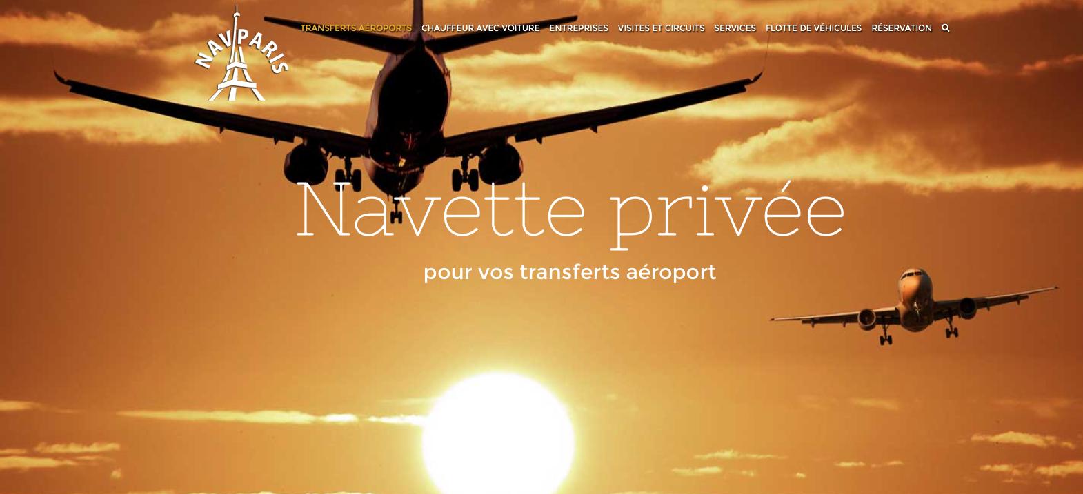 Atenao übersetzt die Webseite von Navparis