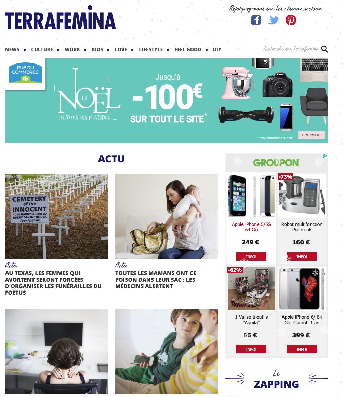 Übersetzung einer Webseite in US-Englisch, ein Webmagazin für aktive Frauen